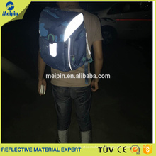 Cheap Price High Visibility PVC Reflective Piping for Clothing and Bags