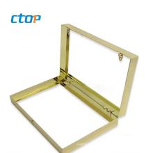 China wholesale kiss lock metal purse frame coin purse frame clutch bag frames