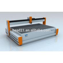 CNC Ultra High Pressure waterjet laminated glass cutting machine with CE certificate and 420Mpa pump