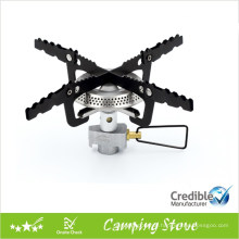 Portable Folding Gas camping stove with ceramic burner