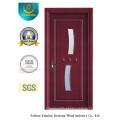 Porta MDF Estilo Simples para Interior com Vidro (xcl-845)