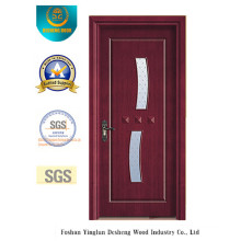 Simple Style MDF Door for Interior with Glass (xcl-845)