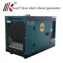 small 7 kva diesel generator small soundproof portable diesel generator 7000 watt India price