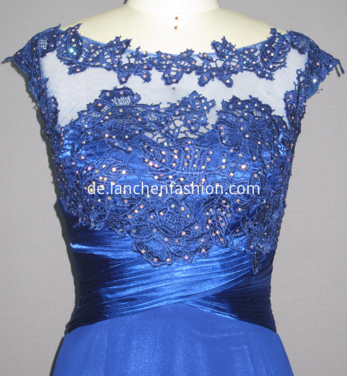 Satin Dress ROYAL