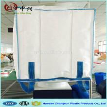 Customized big bag 1000kg for food feed / waterproof jumbo bag with liner