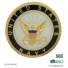 Benutzerdefinierte Design Metall Goldmünze für Souvenir