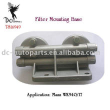 Doppelkopf-Casting-Filter-Montagehalterungen, ISO / TS16949-zertifizierte Fabrik