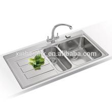 NEW Inset Topmount Stainless Steel Kitchen Sink for European