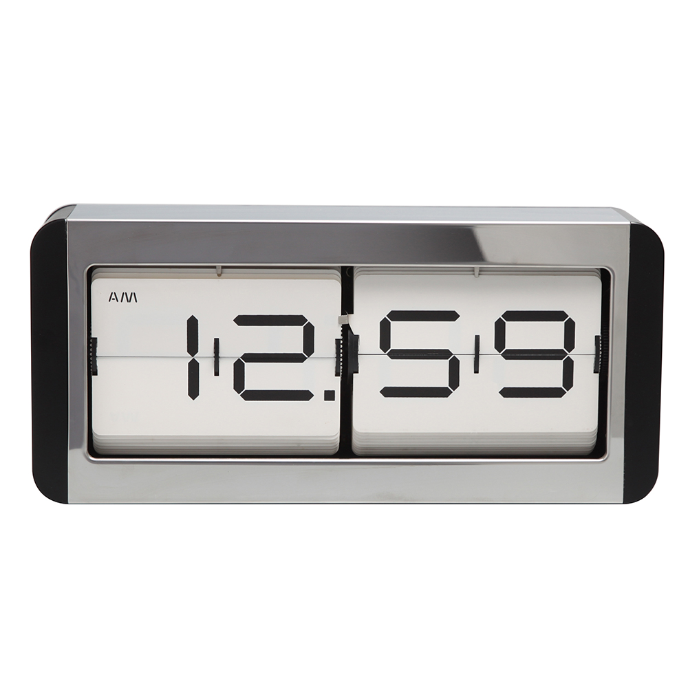 Square Clock with Date