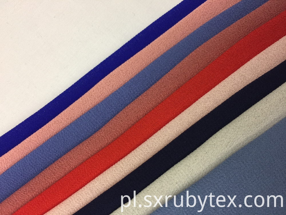 Polyester Twist Chiffon Fabric