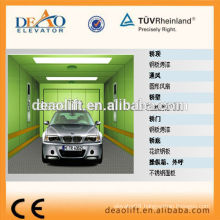 Checked Steel Plate Platform Car Elevator