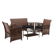 4pc table sets with cushion