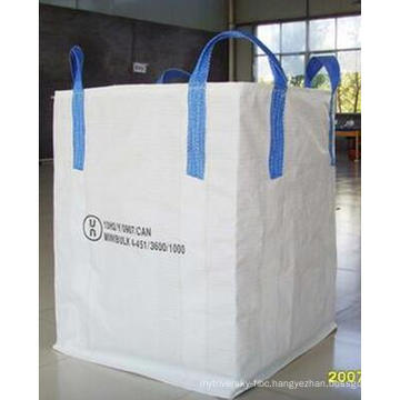 100% New Virgin PP Woven Big Bag, Jumbo Bag FIBC for Cement, Lime, Salt, Iron Ore, Silica