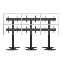 """Video Wall Stand Floorbase 6 Screens 40-50"""" (2*3) (AW 600A)"""