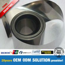 99.95% High Purity Tungsten Foils Manufacturer
