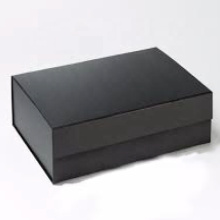 Large paper box with hot stamping customize logo and designer make up box