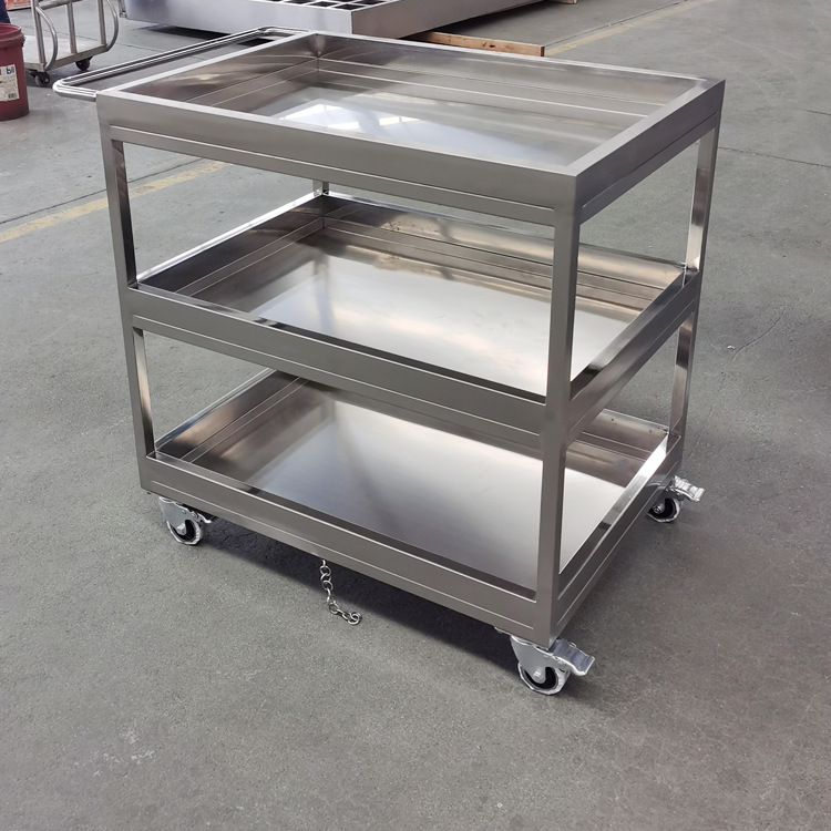 Special offer three-layer trolley wholesale