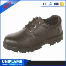 Черная кожа верхних CSA безопасности обувь Цена в $7