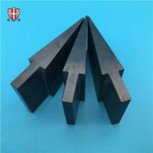 ladrilho cerâmico de nitreto de silício preto de alta temperatura