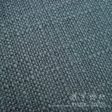 Cação de linho tecido 100% poliéster tecido de linho para o sofá