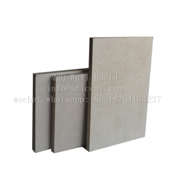 Magnesium Oxysulfate Weather Resistant Rolled Back Exterior Panels