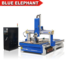 Best Price 4 Axis 3D Engraving CNC Router Machine with High Z Axis for Wood Cutting