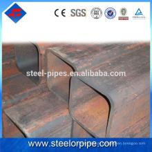 2016 Novos produtos modernos 40 * 40mm tubo quadrado de aço galvanizado