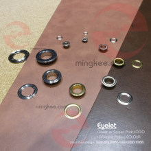 Handtasche Teile des Kreises Runde Metall Zink Legierung Messing Eisen Ösen