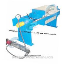 Leo Filter Press 400 Manuelle hydraulische Filterpresse