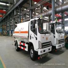 Mini camión de petrolero de los proveedores de China 5000 litros