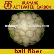 High adsorption polyester fiber ball of water filtration/fiber ball filter