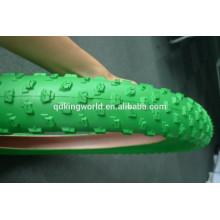 26*4.0 Green Colored Bike Tire MTB, Bicycle Tire MTB