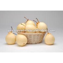 Bonita mirada y forma hermosa pera fresca del ya