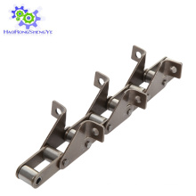 S55-F4 Agricultural roller chain with attachments