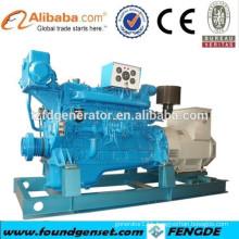 CCS APPROVED 250KW SHANGCHAI marine diesel generator set