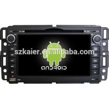 Fábrica diretamente! Android 4.4 jogador do dvd do carro da tela de toque para o núcleo de GMC + qual + OEM