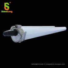 IK10 pour ferme utilisé IP69K LED tri-proof LED avec couvercle en PE