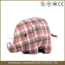 Brinquedo de pelúcia macia boneca de elefante de pelúcia para crianças