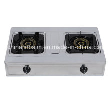 2 Burner High Type Stainless Steel 710mm Gas Cooker
