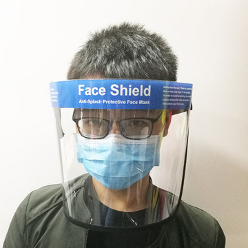 Clear Anti Droplet Full Safty Face Shield Máscara