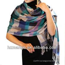 2016 última moda musulmanes bufanda de la señora