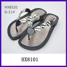New fashion rhinestone top jelly wedge sandals flip top sandals jelly sandals