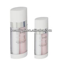 20ml 30ml 60ml dual chamber plastic airless bottle
