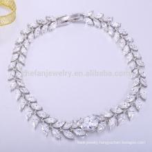 Fashion jewelry 2018 brass knuckle bracelet charm bracelets