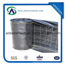 """Commercial PF 4""""X4"""" Wire Backed Silt Fence"""