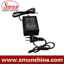 Adaptador de fuente de alimentación para monitor de 12V1a AC / DC para exteriores (SM-12-1)