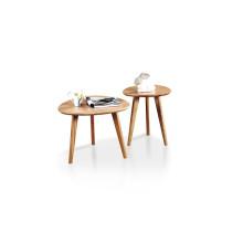 Mesa de centro moderna de madera de la sala de estar