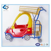 Kids Trolleys with Plastic Toy Car