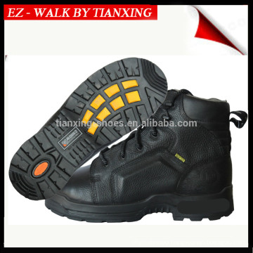 DESMA Injected safety shoes with leather upper