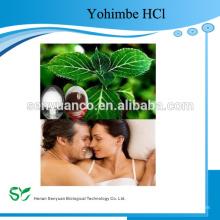 Высокое качество 98% Yohimbine HCl порошок из экстракта коры Yohimbe